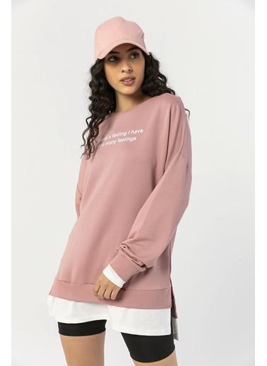 Şimal Sweatshirt Pudra